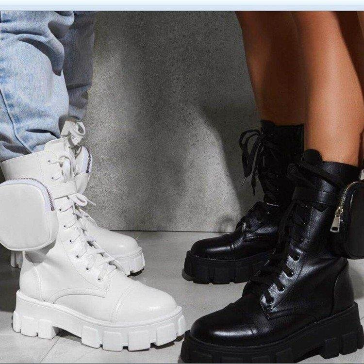 Image of New fashion men's and women's Martin boots in boots Stockings Shoes Dress Bikini bag