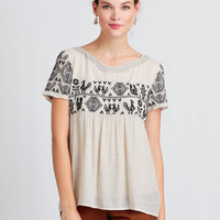 Folklore Embroidered Blouse