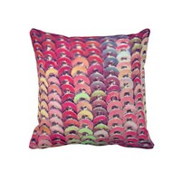 Sequins Throw Pillow, photography from Zazzle.com