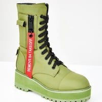 Fly Zone Platform Boots