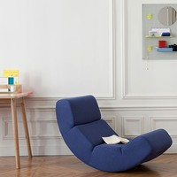 Ernest Rocking Chair - Blue -15%