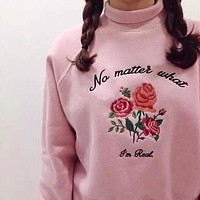 """""""No Matter What, I'm Real"""" Sweater"""