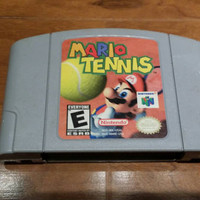 Mario Tennis Nintendo 64 system console game n64 super FREE SHIPPING