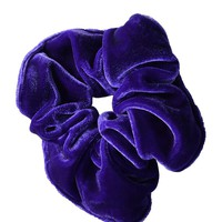 Velvet Goldmine Scrunchie   Purple