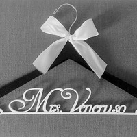 The Perfect Wedding Dress Hanger Personalized Custom Hanger Bridal Hanger Gift For Bride Wedding Dress Hanger