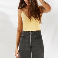 Urban Renewal Remade O-Ring Levi's Denim Mini Skirt | Urban Outfitters