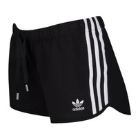 adidas Originals Trefoil Slim Shorts - Women's at Foot Locker