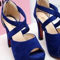 Mily High Heel Shoes