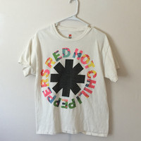 Vintage Red Hot Chili Peppers Shirt, Red Hot Chili Peppers Tee, RHCP, 90s Shirt, 90s Grunge Shirt, Size Medium