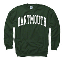 Dartmouth Mid-weight Arched Sweatshirt-Dartmouth Coop