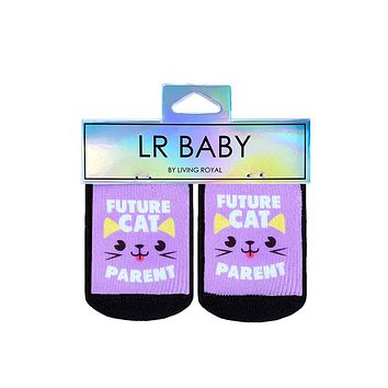 Future Cat Parent Baby Socks