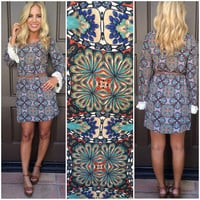 Trip Me Out Long Sleeve Dress