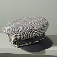 Glen Plaid Engineer Cap