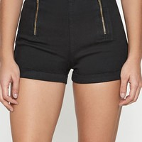 PacSun Black Tap Shorts at PacSun.com