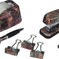 Camo Office Desk Set