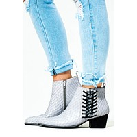 Walk A Mile Booties: Grey