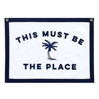 This Must Be The Place Felt Flag Banner