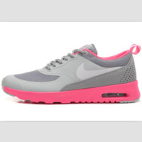 NIKE trend of fashion leisure sports shoes Gray pink