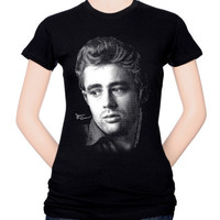 Juniors: James Dean-Dots Shirts at AllPosters.com