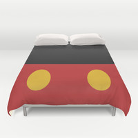 Minimal Mickey Mouse Duvet Cover by Ramin Design Shop