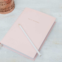 Pale Pink Daily Planner - Urban Outfitters
