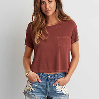 AEO Soft & Sexy Sky High T-Shirt , Mauve