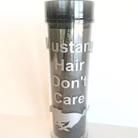 Car Window Decal - Vinyl Decals - Mustang Hair Don't Care - Car Decal Ford Mustang -Over 20 Colors Available- Mustang Decal - Gifts for Her