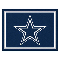 Dallas Cowboys NFL 8ft x10ft Area Rug