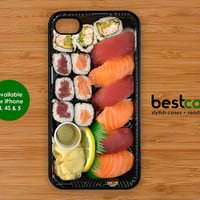 sushi iphone Case - iPhone 4 case iPhone 5 case sushi funny iphone cover FOODIE iphone case