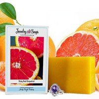 Ruby Red Grapefruit | Jewelry Soap
