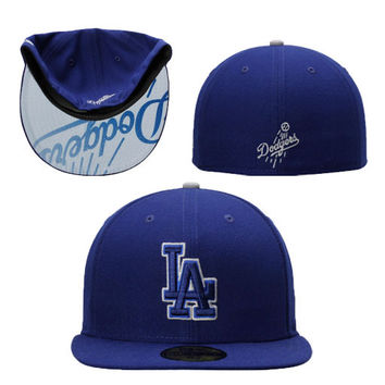 """Dodgers """"Pop Flip"""" Fitted Hat"""