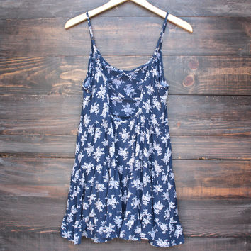 flower and tell tiered baby doll dress