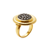 Gurhan Women's Radiant Pave Diamond Cocktail Ring - Gold - Size 7