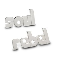 soul rebel - sterling silver pin set