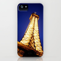 Eiffel iPhone Case by Ryan James Caruthers | Society6