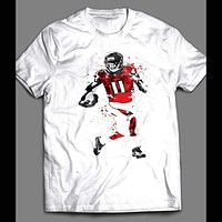 JULIO JONES SPLASH ART SHIRT
