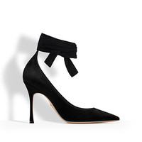 High-heeled shoe in black suede calfskin - Dior