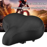1x Soft Bicycle Saddle Men Women Oversize Super Comfortable Bicycle Cycling Seat Universal For Mountain Bike Road Bicycle MTB