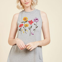 Coming and Growing Tank Top | Mod Retro Vintage Short Sleeve Shirts | ModCloth.com