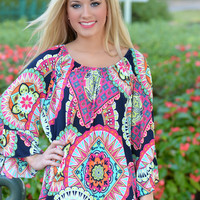 Sweet as Candy Tunic Top