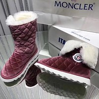 Moncler Women Casual Flats Shoes Boots