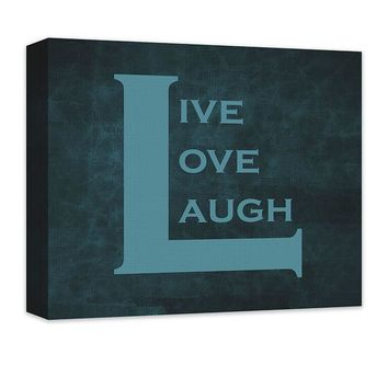 Live Love Laugh II Canvas Wall Art