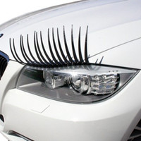 Flashy Lash Decorative Car Eyelashes Fashion Accessory