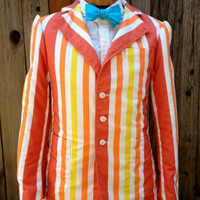 Bert Jolly Holiday Mary Poppins Adult Jacket A Men's Custom Costume High Quality Reproduction