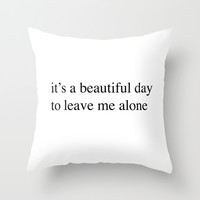 Beautiful Throw Pillow by Trend