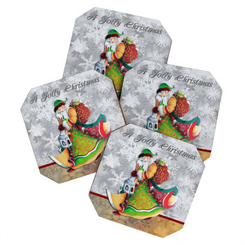 Madart Inc. A Jolly Christmas Coaster Set