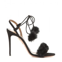 Fancy Nansy fur sandals