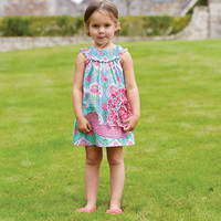 Mud Pie Smocked Snail Dress