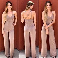 Take the Plunge Jumpsuit