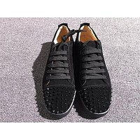 Christian Louboutin CL Low Style #2048 Sneakers Fashion Shoes Online